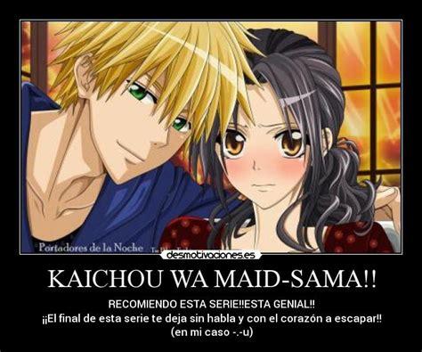 imagenes de anime kaichou wa maid sama usuario kaichou desmotivaciones