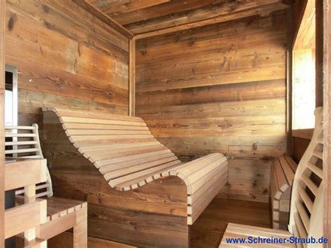 Sauna Einbau by Einbausauna Korrekt Und Kosteng 252 Nstig Schreiner Straub