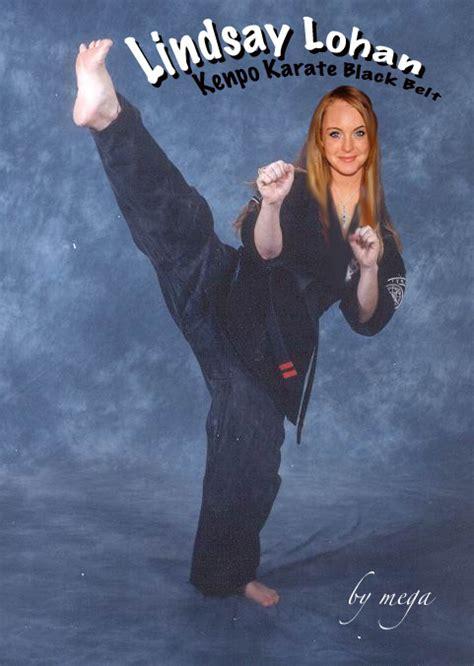 lindsay lohan kenpo karate by mega5150 on deviantart