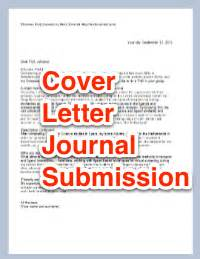 cover letter for scientific journal