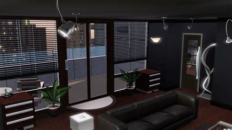 Barney Bedroom Decor by Mod The Sims Barney S Apartment Himym No Cc