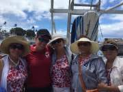 kauai catamaran booze cruise maui to lanai dolphin watch snorkel bbq lunch cruise