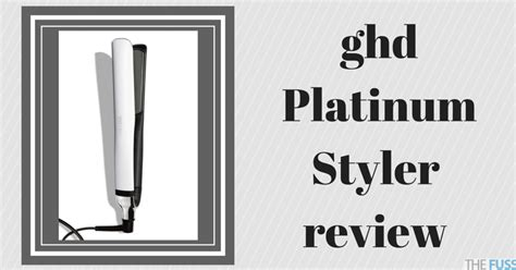 Hair Styler Straightener Reviews by Ghd Platinum Styler Review The Fuss