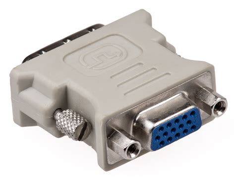 what does a dvi vga adapter output user