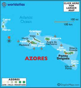 Azores World Map by Pics Photos Map Of Portugal And Azores