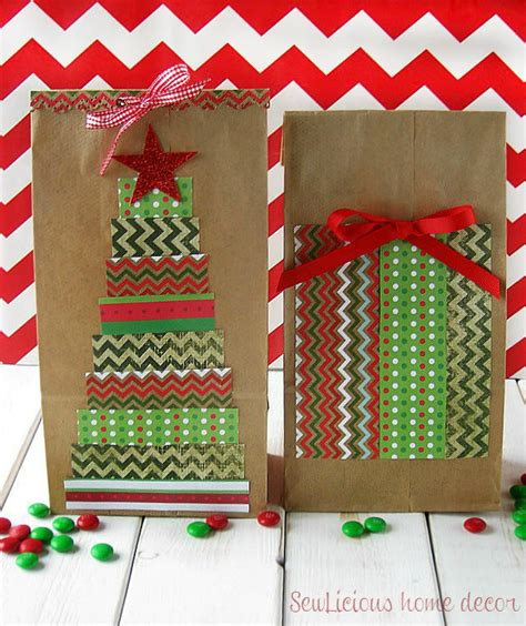 christmas tree paper gift bags favecrafts com