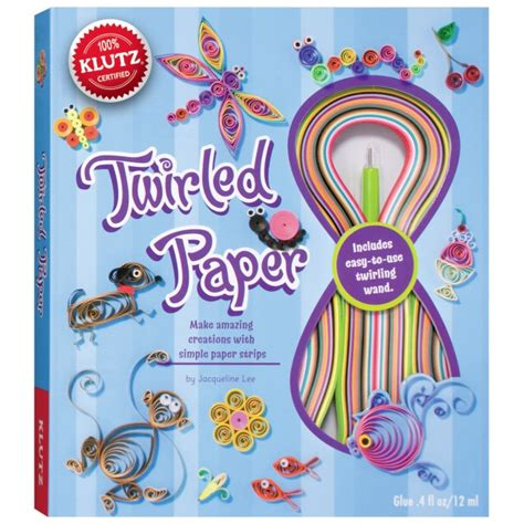 Paper Craft Kits - twirled paper craft kit for klutz craft