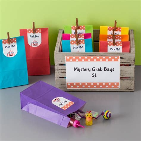 grab bag ideas christmas simple to make mystery grab bags are great idea for fundraisers we filled the bags with dollar