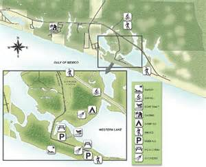 Florida State Park Map by Grayton Beach State Park Map Grayton Beach State Park