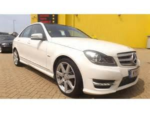 Used White Mercedes For Sale Used Mercedes 2011 Diesel Class C220 Cdi