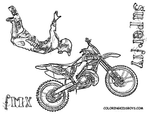 card dirt bike coloring templates coloring boys that i can print printables