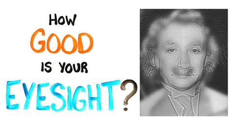 eyesight test how is your eyesight test