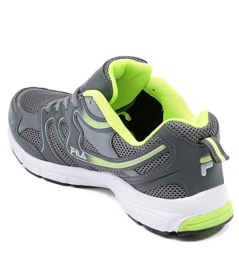 Fila Grey fila barrel grey green sports shoes buy fila barrel