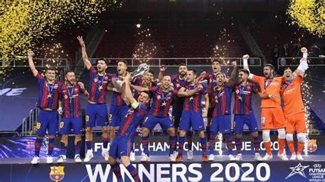 barcelona juara  hasil lengkap final liga champions