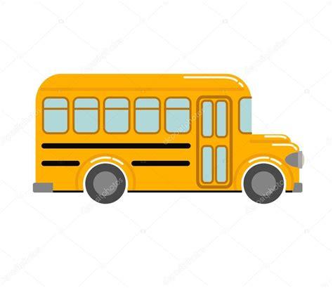 imagenes autobus escolar autob 250 s escolar amarillo vector de stock 169 skillup11