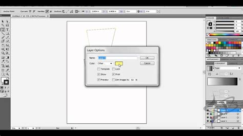 edit pattern color illustrator how to change a layer color in adobe illustrator youtube