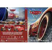 Cars 3 2017 DVD Custom Cover  Designs