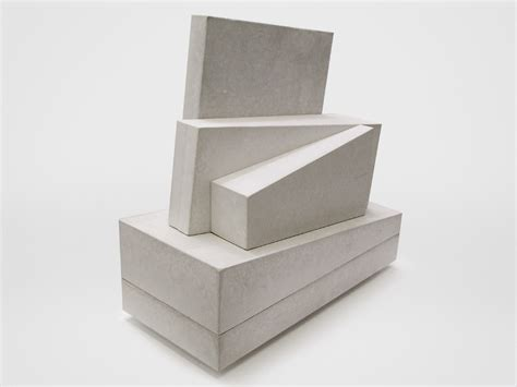 Concrete Garden Benches Untitled Sculpture Arrangement 2010 Michael Clyde Johnson