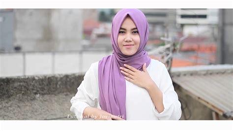 tutorial kerudung pasmina youtube hijab tutorial joviputri pasmina semi instan by avoura