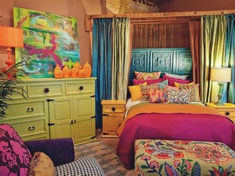 purple and green home decor decorating with a triadic color scheme in the bedroom