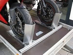 Motorrad Anh Nger Wirtz by Flexible Freistehende Doppelanlage F 252 R Transport T M