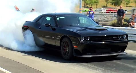 Challenger Srt Hellcat Prices by Here S A Challenger Srt Hellcat Burnout To Celebrate