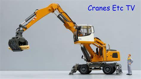 conrad liebherr lh 24 material handler by cranes etc tv