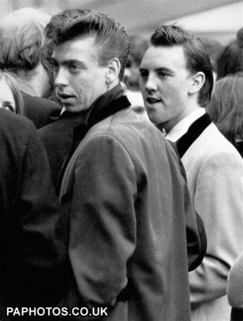 the teddy boys hairstyle 24 best subculture teddy boys images on pinterest teddy