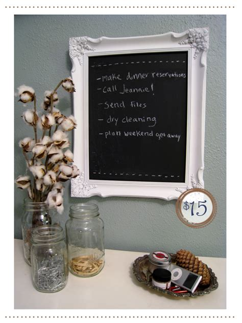 diy chalkboard picture frame how to make a chalkboard frame craft picture frames