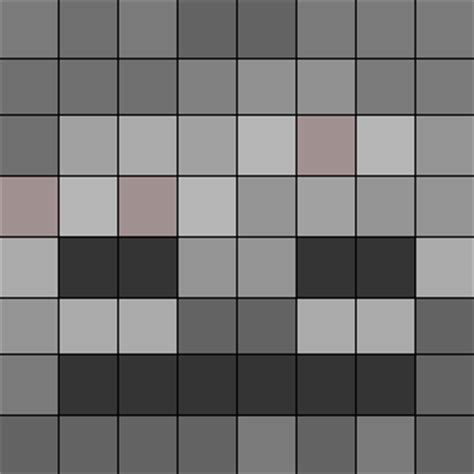 minecraft skeleton template minecraft artwork fan show your creation
