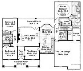 1800 square foot ranch house plans floorplan