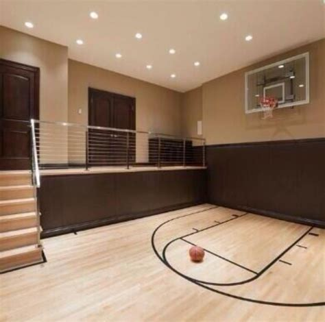 basement basketball court 17 best images about indoor basketball court on pinterest home mansions and spirals