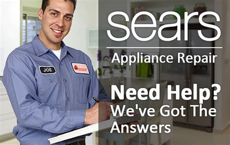 sears appliance repair warranty service