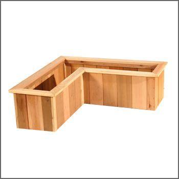 Corner Planter Boxes by Corner Planter Patio Furniture