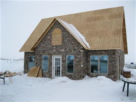 stone built house plans jared jenn s stone house on the prairie building a slipform stone house from the