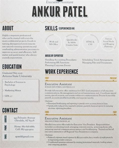 resumes that stand out beautiful exle of a