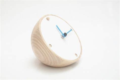 Half Glass Clock ancient glass clock inspired modern half circle desk clock