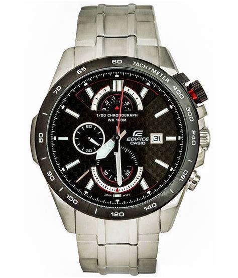Edifice Ef 520 Black casio edifice chronograph efr 520sp 1avdf ex069