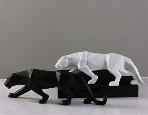 black panther sculpture contemporary home trisources black panther cat contemporary sculpture chadstore co uk