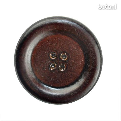 Button Leather by Botani Trimmings Zippers Fashion Hardwares Buttons Silk