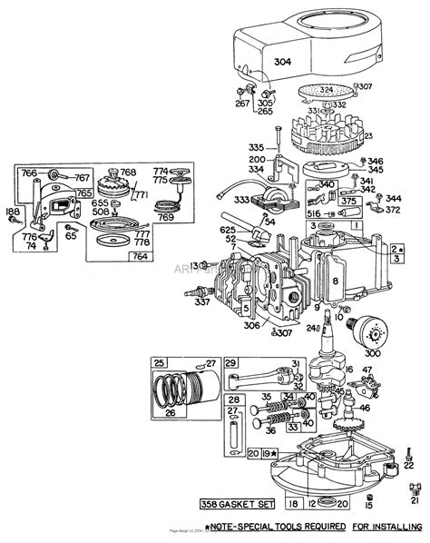 diagram of a lawn mower engine briggs and stratton lawn mower parts diagram grand