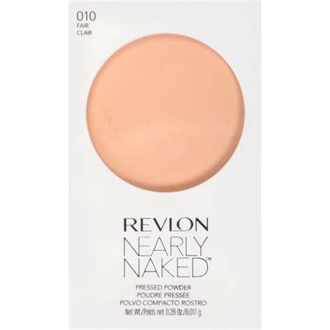 Revlon Nearly Pressed Powder revlon nearly pressed powder 010 fair 0 28 oz