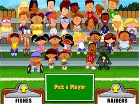backyard football teams the first backyard football game first video game i ever