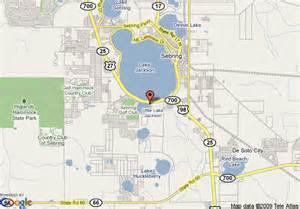 map of residence inn sebring sebring
