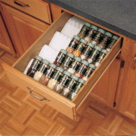 spice rack cabinet insert kitchen organizer spice tray insert rev a shelf