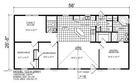 Kitchen Island Floor Plans redman 3 bedroom 2 full bath showcase homes of maine