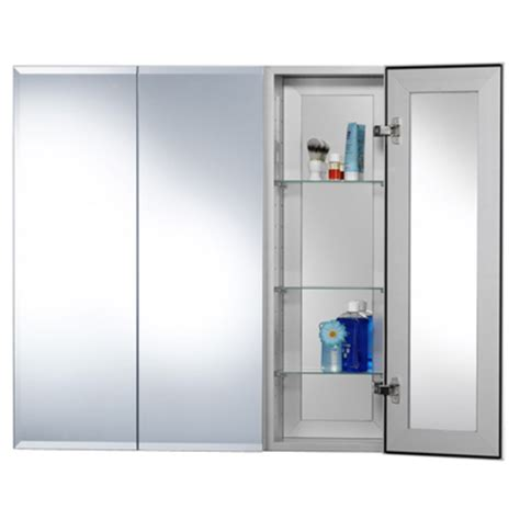 triple bathroom cabinet wave rhett 47 3 8 quot w triple door medicine cabinets free