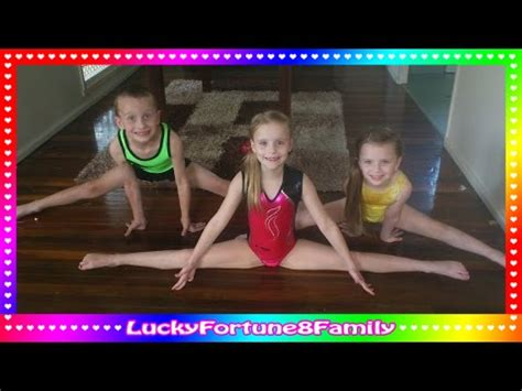 tutorial flash young 2 splits class how to do the splits tutorial for young girl