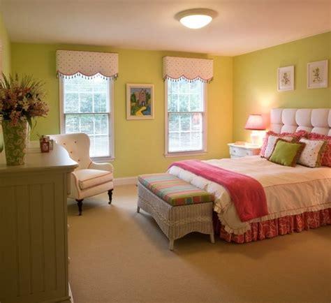 Charmant Chambre Ado Rose Et Gris #4: chambre-ado-fille-verte-blanche-rose-t%C3%AAte-lit-capitonn%C3%A9.jpg
