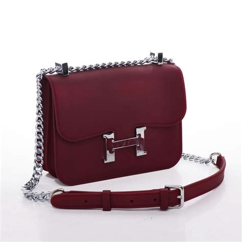 Chanel Jelly Premium toe collection tas fashion hermes constance jelly merah